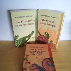 Libros de segunda mano: KATHERINE PANCOL - LA TRILOGIA ANIMAL ( 3 TOMOS) - ESFERA DE LOS LIBROS 2010/11. Lote 217785697