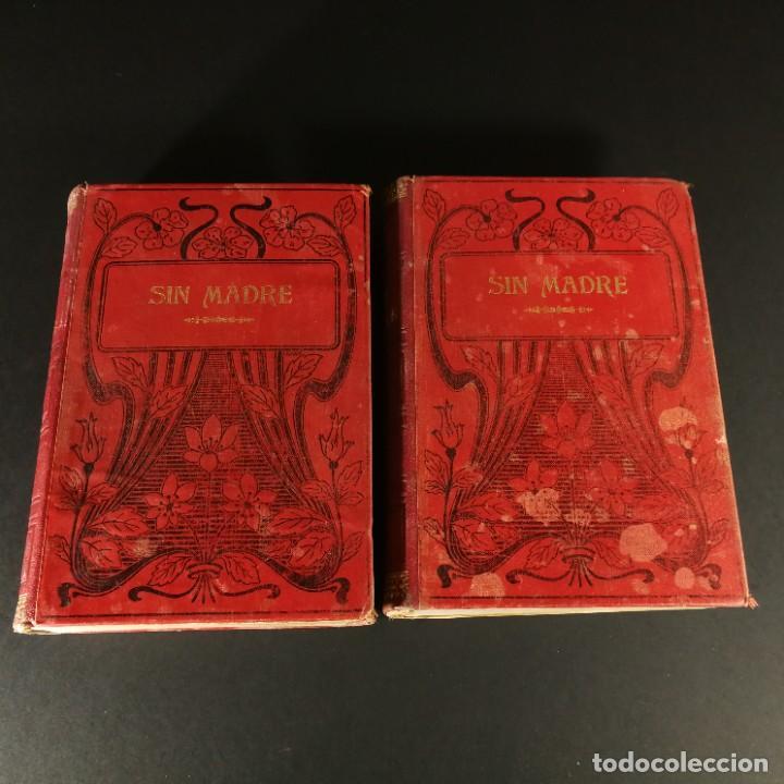 SIN MADRE EL HIJO DEL ARROYO LUIS DE VAL SEGUNDA EDICION TOMO 1 Y 2 OBRA COMPLETA EDICIÓN ILUSTRADA (Libros de Segunda Mano (posteriores a 1936) - Literatura - Narrativa - Otros)