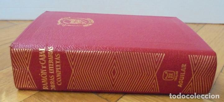 EDITORIAL AGUILAR - COLECCION JOYA - Nº 061 - OBRAS LITERARIAS COMPLETAS - S. RAMON Y CAJAL (Libros de Segunda Mano (posteriores a 1936) - Literatura - Narrativa - Otros)