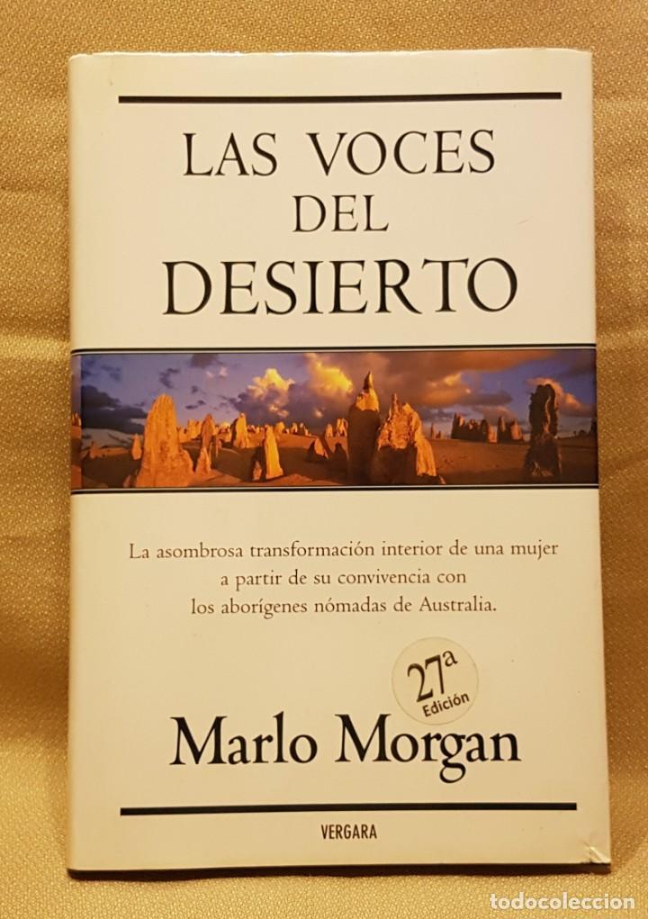 LAS VOCES DEL DESIERTO - MARLO MORGAN (Libros de Segunda Mano (posteriores a 1936) - Literatura - Narrativa - Otros)