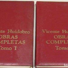 Libros de segunda mano: VICENTE HUIDOBRO OBRAS COMPLETAS 1976. Lote 217940536