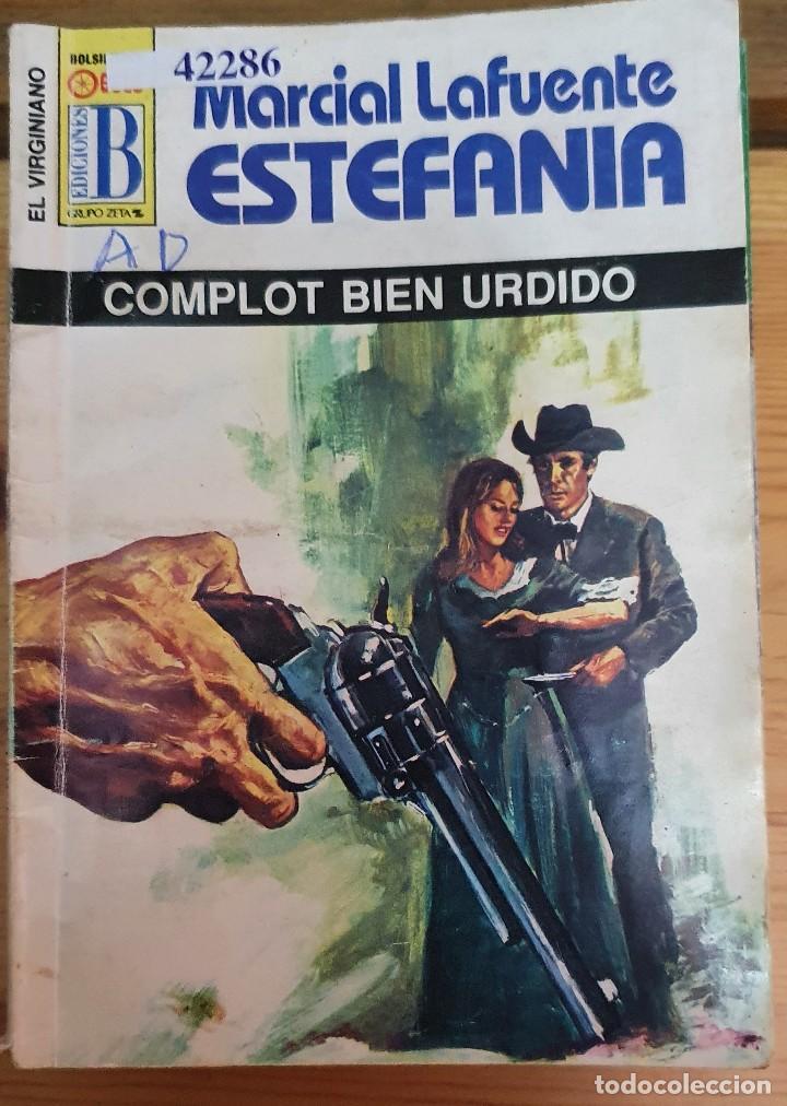 42286 - NOVELA DEL OESTE - ESTEFANIA - COL EL VIRGINIANO - COMPLOT BEIN URDIDO - Nº 112 (Libros de Segunda Mano (posteriores a 1936) - Literatura - Narrativa - Otros)
