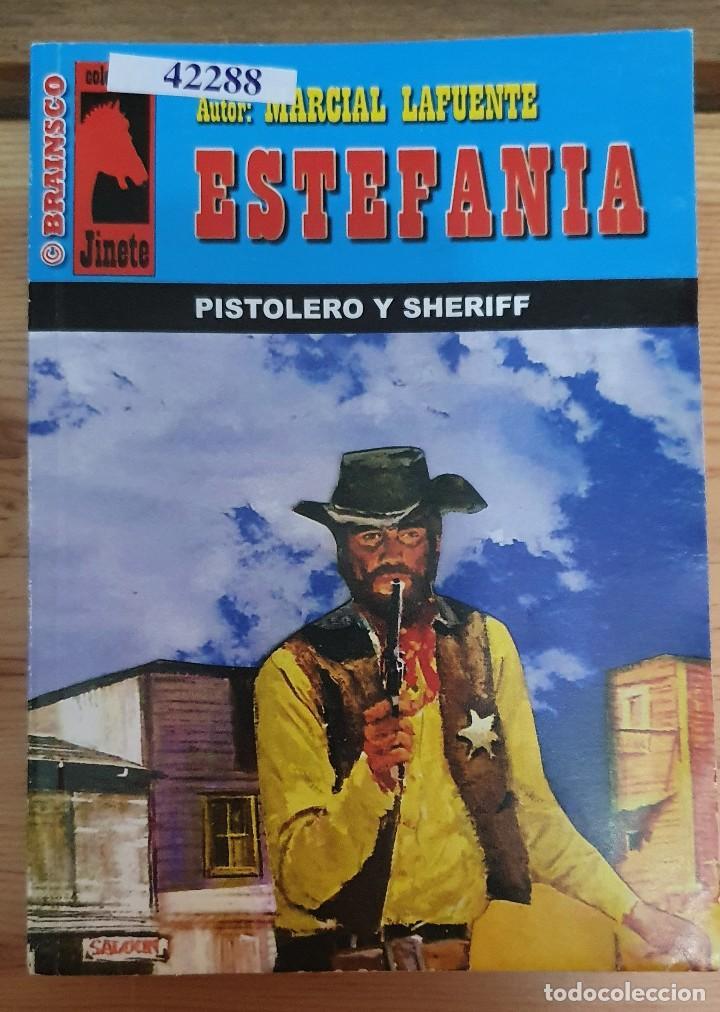 42288 - NOVELA DEL OESTE - ESTEFANIA - COL JINETE - PISTOLERO Y SHERIFF - Nº 237 (Libros de Segunda Mano (posteriores a 1936) - Literatura - Narrativa - Otros)