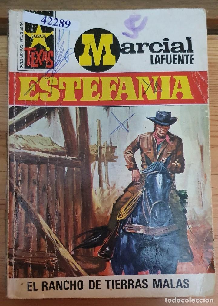 42289 - NOVELA DEL OESTE - ESTEFANIA - COL TEXAS - EL RANCHO DE TIERRAS MALAS - Nº 852 (Libros de Segunda Mano (posteriores a 1936) - Literatura - Narrativa - Otros)
