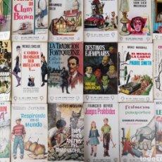 Libros de segunda mano: LOTE DE 24 LIBROS PLAZA. Lote 218034246