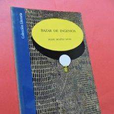 Libros de segunda mano: BAZAR DE INGENIOS. BENÍTEZ REYES, FELIPE. ED. CAJA DE AHORROS DE GRANADA. COLECCIÓN LITERARIA. 1991.. Lote 218078363