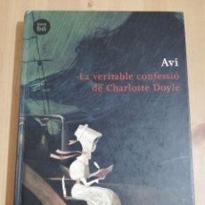 Libros de segunda mano: LA VERITABLE CONFESSIÓ DE CHARLOTTE DOYLE (AVI). Lote 218126945