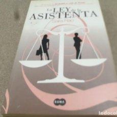 Libros de segunda mano: LITERATURA......LA LEY DE LA ASISTENTA....SAIRA RAO.....2008.... Lote 218220630