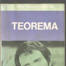 Libros de segunda mano: PIER PAOLO PASOLINI. TEOREMA. EDITORIAL SUDAMERICANA. Lote 218433097