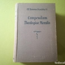 Libros de segunda mano: COMPENDIUM THEOLOGIAE MORALIS TOMOS I.. Lote 218541671