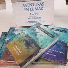 Libros de segunda mano: AVENTURAS EN EL MAR - CAJA CON 5 LIBROS - ARM06. Lote 218642697