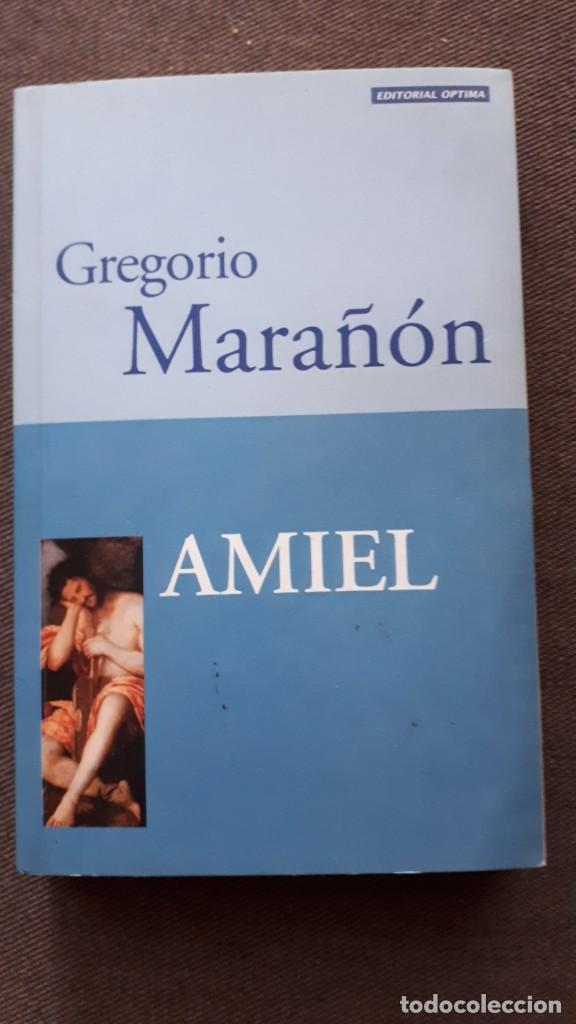 AMIEL - GREGORIO MARAÑÓN (Libros de Segunda Mano (posteriores a 1936) - Literatura - Narrativa - Otros)