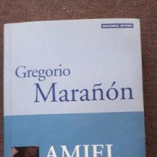 Libros de segunda mano: AMIEL - GREGORIO MARAÑÓN. Lote 218674442