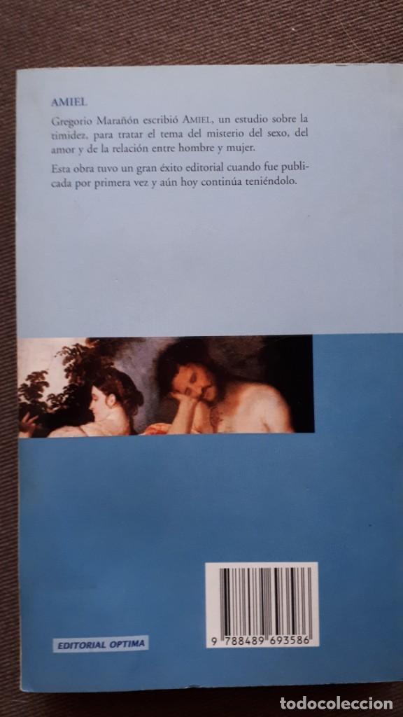 Libros de segunda mano: Amiel - Gregorio Marañón - Foto 2 - 218674442
