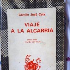 Libros de segunda mano: VIAJE A LA ALCARRIA. COL. AUSTRAL Nº 1141. Lote 218674758