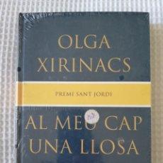 Libros de segunda mano: AL MEU CAP UNA LLOSA ( PRECINTADO !!!) - OLGA XIRINACS - COL. GE- BIBLI GRANS PREMIS - PJRB. Lote 218676088