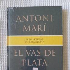 Libros de segunda mano: EL VAS DE PLATA - ( PRECINTADO !!!) - ANTONI MARÍ - COL. GE- BIBLI GRANS PREMIS - PJRB. Lote 218677641