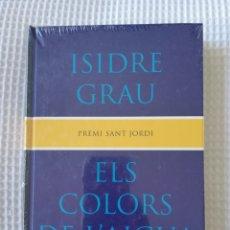 Libros de segunda mano: ELS COLORS DE L'AIGUA - (PRECINTADO!!!) - ISIDRE GRAU - COL. GE- BIBLI GRANS PREMIS - PJRB. Lote 218707141