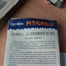 Libros de segunda mano: EL EXPERIMENTO DE POTT. PITIGRILLI. EDITORIAL B. BAUZÁ. 1930. Lote 218720707