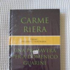 Libros de segunda mano: UNA PRIMAVERA PER A DOMENICO GUARINI (PRECINTADO!!!)-CARME RIERA- COL. GE- BIBLI GRANS PREMIS - PJRB. Lote 218693361