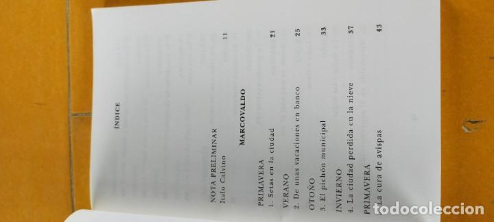 Libros de segunda mano: MARCOVALDO - BIBLIOTECA ITALO CALVINO - SIRUELA X303 - Foto 7 - 218757843