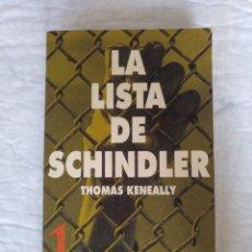 Libros de segunda mano: LA LISTA DE SCHINDLER. THOMAS KENEALLY. CINE PARA LEER 1. LA VANGUARDIA. LIBRO. Lote 218839921