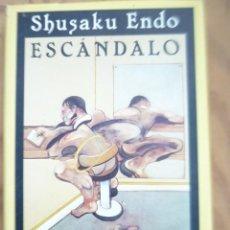 Libros de segunda mano: ESCANDALO - SHUSAKU ENDO. Lote 218842308