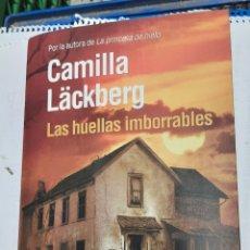 Libros de segunda mano: LAS HUELLAS IMBORRABLES - CAMILLA LÄCKBERG. Lote 218844546