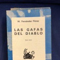 Livres d'occasion: LAS GAFAS DEL DIABLO - W. FERNANDEZ FLOREZ - AUSTRAL - BUEN ESTADO. Lote 218937636