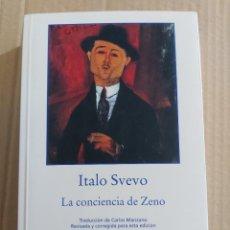 Libros de segunda mano: LA CONCIENCIA DE ZENO ( ITALO SVEVO ). Lote 218940577