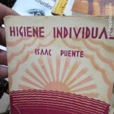 Libros de segunda mano: HIGIENE INDIVIDUAL, ISAAC PUENTE. L.19173-2. Lote 219049291