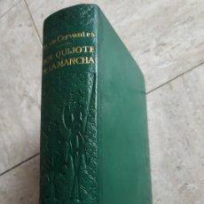 Libros de segunda mano: DON QUIJOTE DE LA MANCHA. CERVANTES. ED. CASTILLA. EDICION IV CENTENARIO. PLENA PIEL.. Lote 219277433