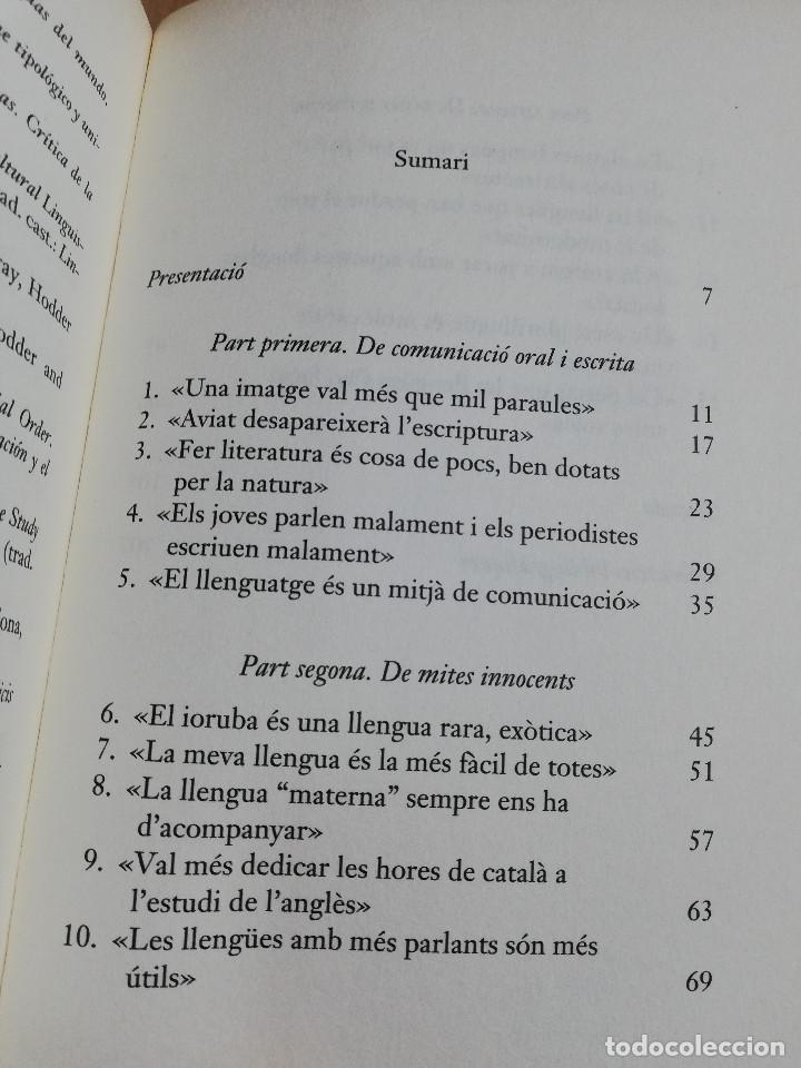 Libros de segunda mano: UNA IMATGE NO VAL MÉS QUE MIL PARAULES (JESÚS TUSON) - Foto 3 - 219335248