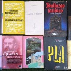 Libros de segunda mano: INCREIBLE COLECCION LOTE DE 30 LIBROS NOVELAS #5 POESIA CINCUENTA SOMBRAS DE GREY SHAKESPEARE PLA. Lote 219615731