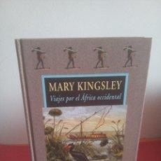 Libros de segunda mano: VIAJES POR EL ÁFRICA OCCIDENTAL - MARY KINGSLEY - VALDEMAR - AVATARES Nº 45 - DESCATALOGADO. Lote 219705236