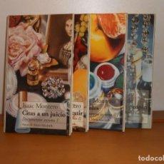 Libros de segunda mano: DOCUMENTOS SECRETOS, I,II,III,IV /OBRA COMPLETA , ISAAC MONTERO - ANAYA MARIO MUCHNICK. Lote 220171273