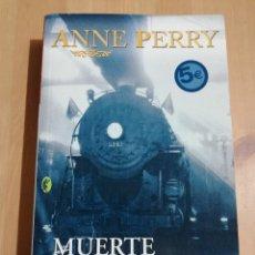 Libros de segunda mano: MUERTE DE UN EXTRAÑO (ANNE PERRY). Lote 220433206