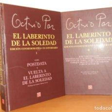 Libros de segunda mano: EL LABERINTO DE LA SOLEDAD (EDICIÓN LUJO CONMEMORATIVA 50 ANIVERSARIO EN 2 TOMOS) - COMO NUEVOS. Lote 220495413