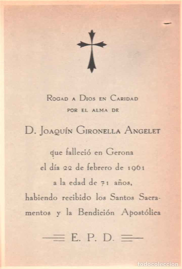 Libros de segunda mano: JOSÉ MARÍA GIRONELLA CARTA A MI PADRE MUERTO ED PLANETA BARCELONA 1978 1ª EDICIÓN 15.000 EJEMPLARES - Foto 4 - 220520662