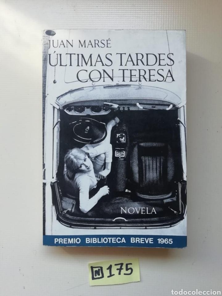 ÚLTIMAS TARDES CON TERESA (Libros de Segunda Mano (posteriores a 1936) - Literatura - Narrativa - Otros)