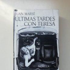 Libros de segunda mano: ÚLTIMAS TARDES CON TERESA. Lote 220607400