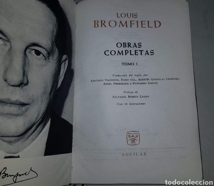 Libros de segunda mano: Obras completas - aguilar - tomo 1 - Louis Bromfield - tdk490 - Foto 2 - 220806666