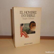 Libros de segunda mano: EL HOMBRE INVISIBLE , RALPH ELLISON - LUMEN. Lote 220900645