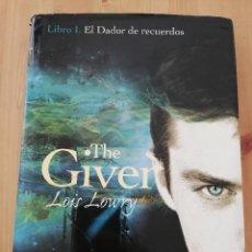 Livros em segunda mão: THE GIVER. LIBRO I. EL DADOR DE RECUERDOS (LOIS LOWRY). Lote 221265661