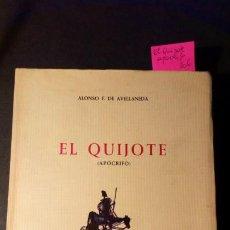 Libros de segunda mano: EL QUIJOTE (APÓCRIFO) - ALONSO F. DE AVELLANEDA - EDICIONES MARTE. Lote 257559435