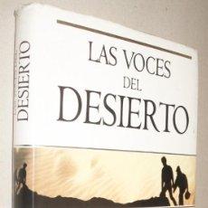 Libros de segunda mano: LAS VOCES DEL DESIERTO - MARLO MORGAN. Lote 221345646