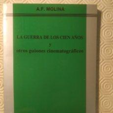 Libros de segunda mano: ANTONIO FERNÁNDEZ MOLINA , 8 PRIMERAS EDICIONES, VER DESCRIPCIÓN.. Lote 221400776