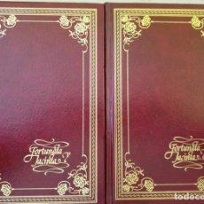 Libros de segunda mano: FORTUNATA Y JACINTA. 2 TOMOS; OBRA COMPLETA. - PEREZ GALDOS, BENITO.. Lote 221461776