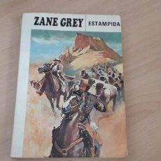 Libros de segunda mano: 11-00614-ZANE GREY- ESTAMPIDA. Lote 221501682