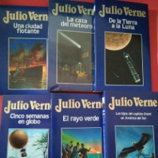 Libros de segunda mano: JULIO VERNE 6 NÚMEROS EDICIONES ORBIS. Lote 221656878
